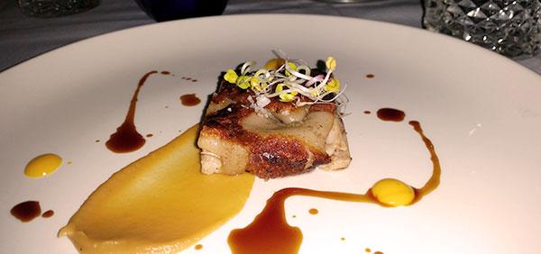 Plato de carne del restaurante madrileño Desencaja